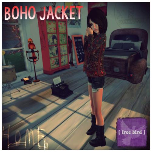 [ free bird ] boho jacket