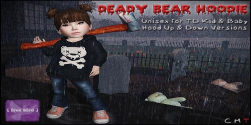 [ free bird ] Deady Bear Hoodie Ad