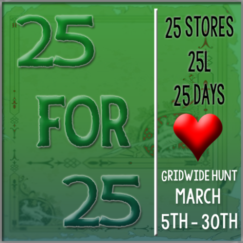25-for-25 Hunt March Sign