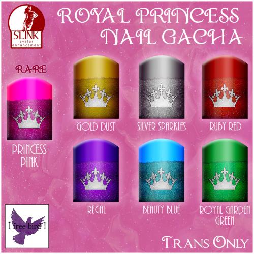 [ free bird ] Royal Princess Nail Gacha Ad