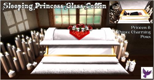 [ free bird ] Sleeping Princess Glass Coffin