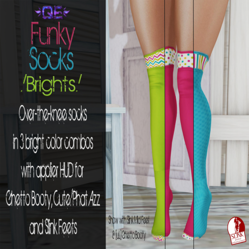 [QE] Funky Socks Bright Ad