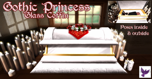 [ free bird ] Gothic Princess Glass Coffin