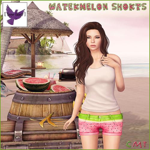 [ free bird ] Watermelon Shorts Ad