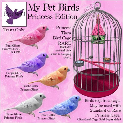 [ free bird ] My Pet Birds Princess Edition Ad