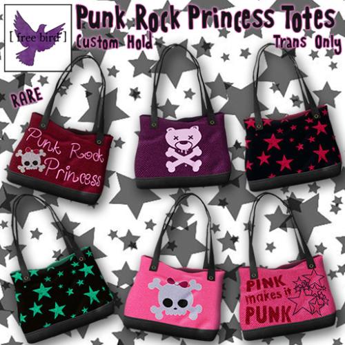 [ free bird ] Punk Rock Princess Totes Gacha Ad