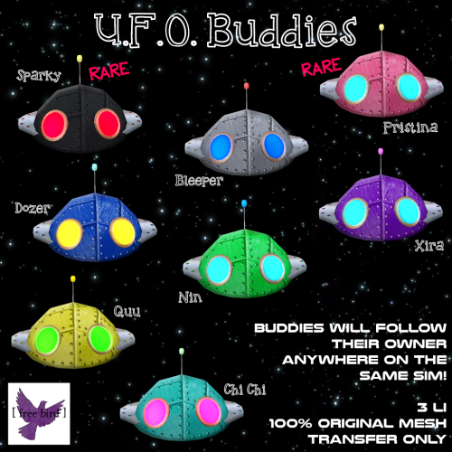 [ free bird ] UFO Buddies Gacha Ad