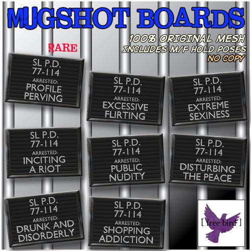 [ free bird ] Mugshot Gacha Ad