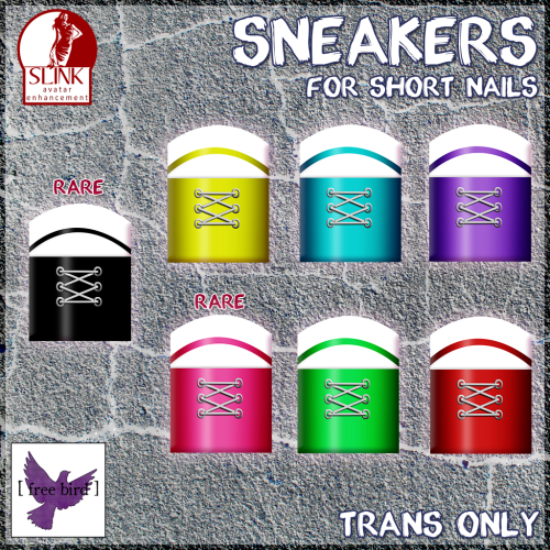 [ free bird ] Sneaker Nails - Ad