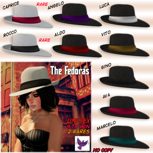 [ free bird ] The Fedoras Gacha Ad
