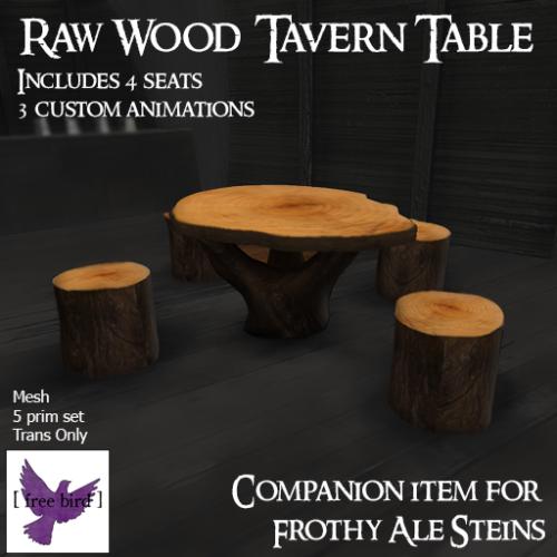 [ free bird ] Tavern Table Sign