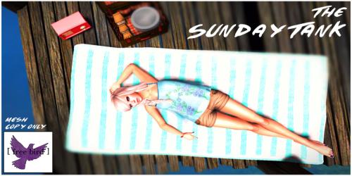 [ free bird ] The Sunday Tank Ad