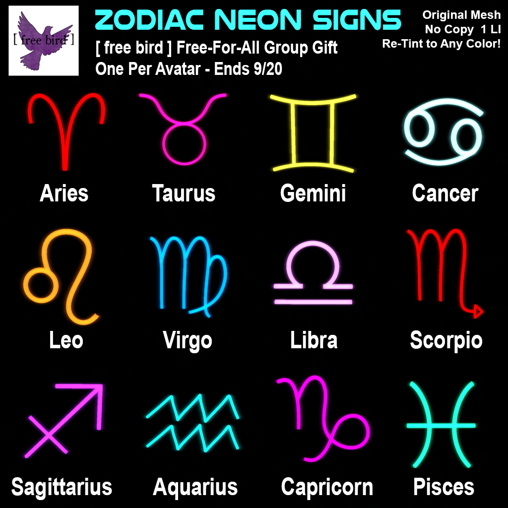 all zodiac signs
