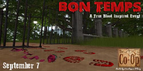 The Co-Op Presents - Bon Temps Sept 7