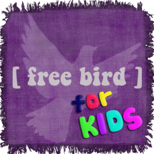 [ free bird ] for kids logo trans