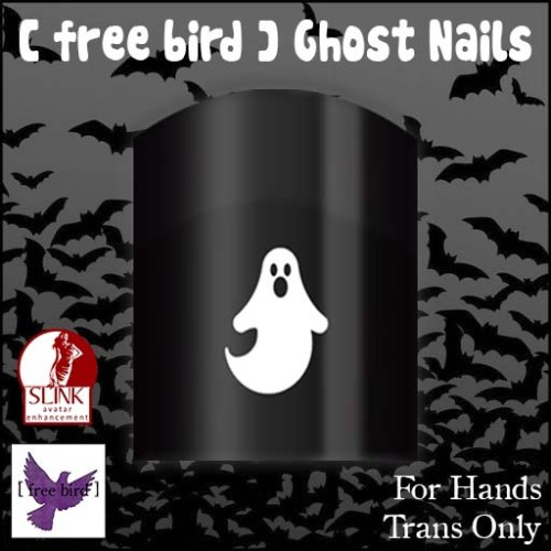 [ free bird ] Ghost Nails Ad