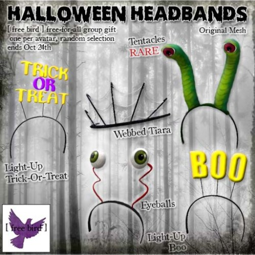 [ free bird ] Halloween Headband Free-For-All Ad