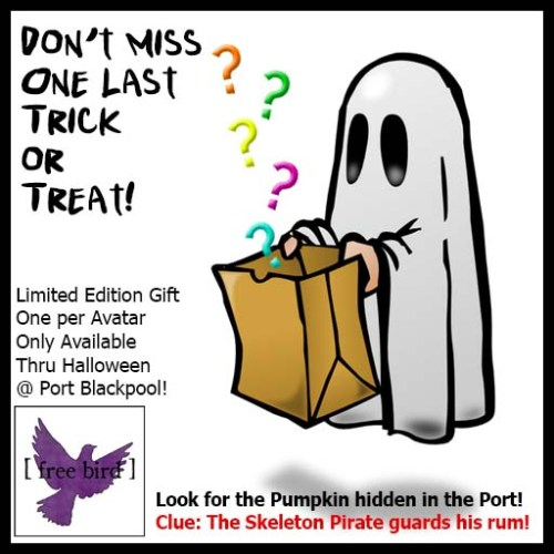 [ free bird ] Hidden Trick or Treat Gift Oct 31