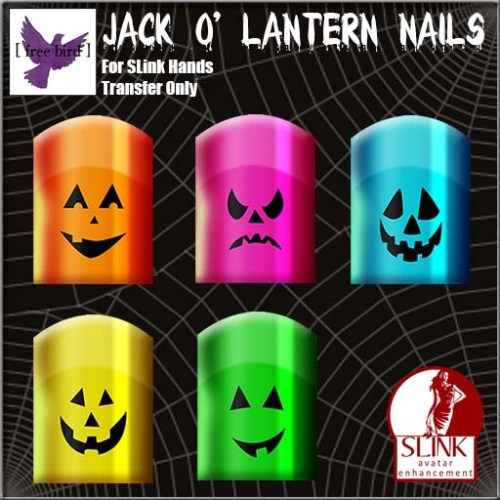 [ free bird ] Nails - Jack-O-Lantern Set Ad