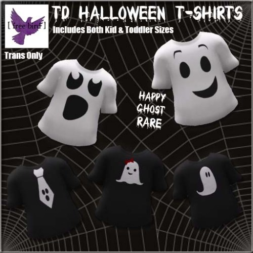 [ free bird ] TD Halloween T-Shirt Collection Ad