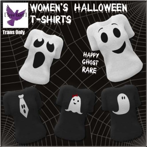 [ free bird ] Women's Halloween T-Shirt Collection Ad