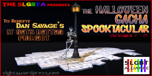 SLGBTA Halloween Gacha Spooktacularis OPEN!