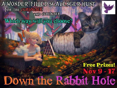 [ free bird ] Presents Down the Rabbit Hole November 9 - 17