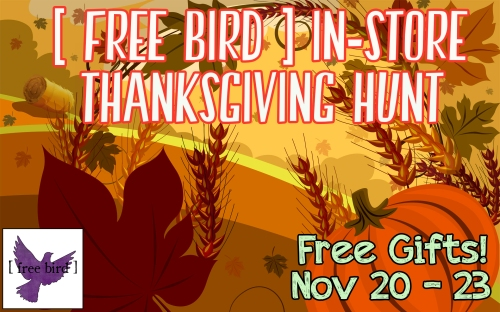 [ free bird ] Thanksgiving Hunt