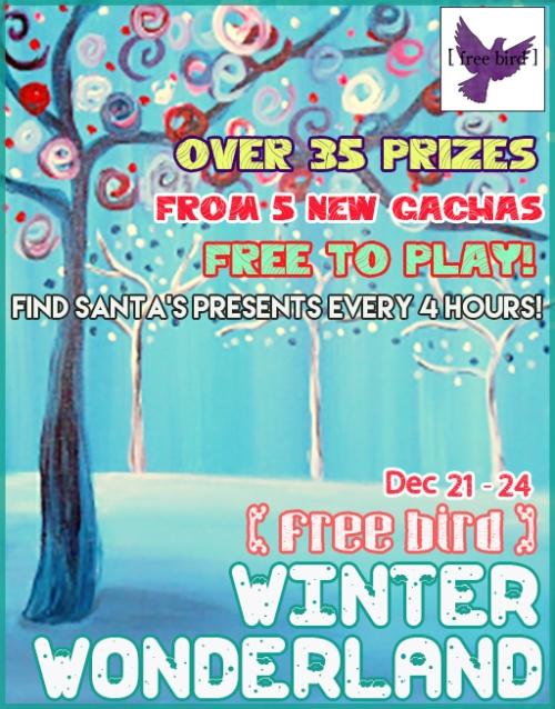 [ free bird ] Winter Wonderland Event