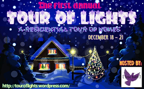 Tour of Lights Sign