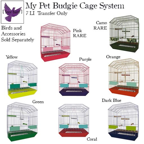 [ free bird ] My Pet Budgie Cage System Gacha Ad