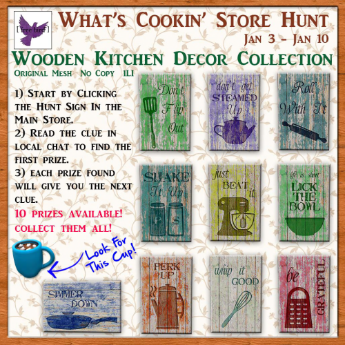 [ free bird ] What's Cookin' Store Hunt Ad