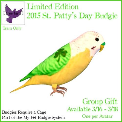 St. Patty's Bird