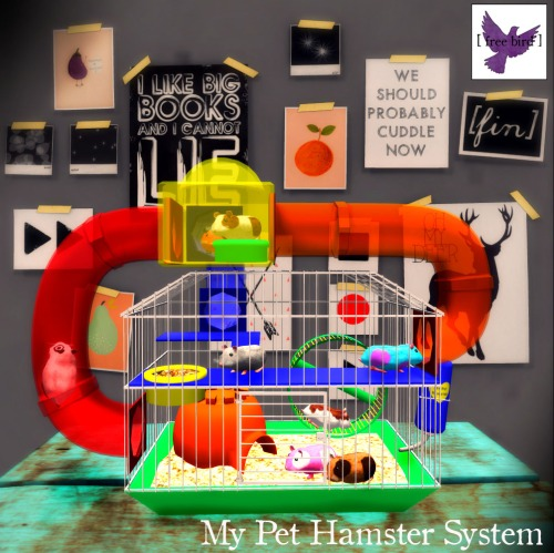 [ free bird ] My Pet Hamster System