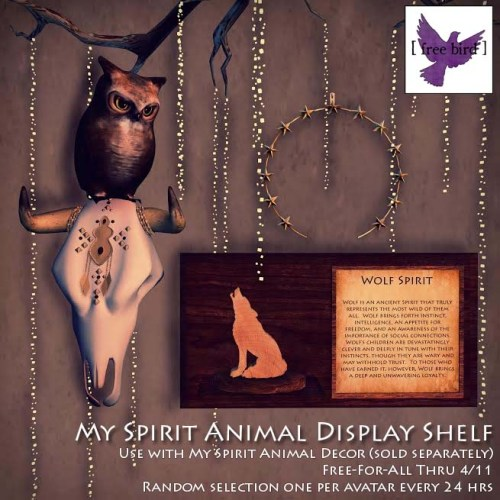 [ free bird ] My Spirit Animal Glam Ad (1)