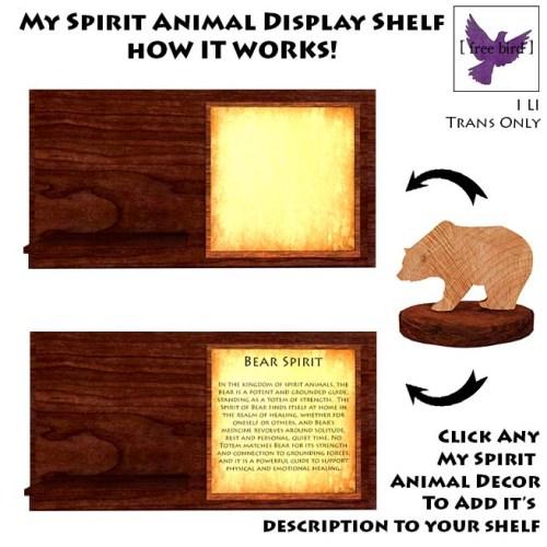 [ free bird ] My Spirit Animal Shelf How-To