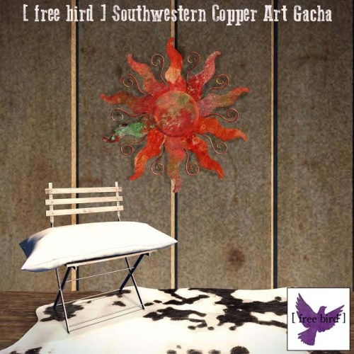 [ free bird ] Southwestern Copper Art Glam Ad