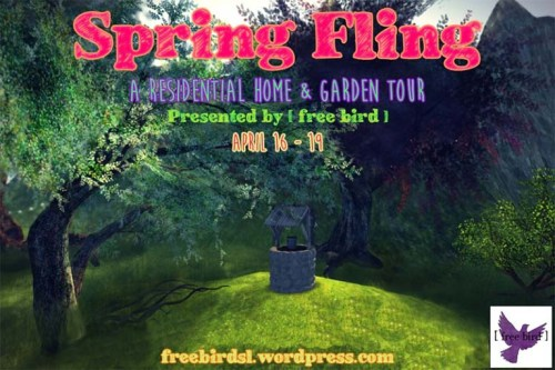 Official Spring Fling Advertising Texture