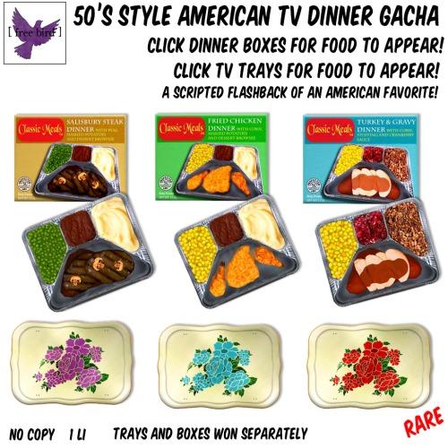 [ free bird ] 50's Style TV Dinner Gacha