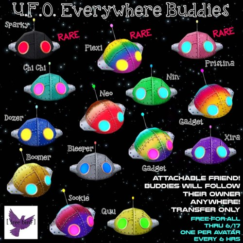 [ free bird ] UFO Everywhere Buddies Free-For-All Ad