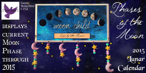 [ free bird ] Phases of the Moon Ad