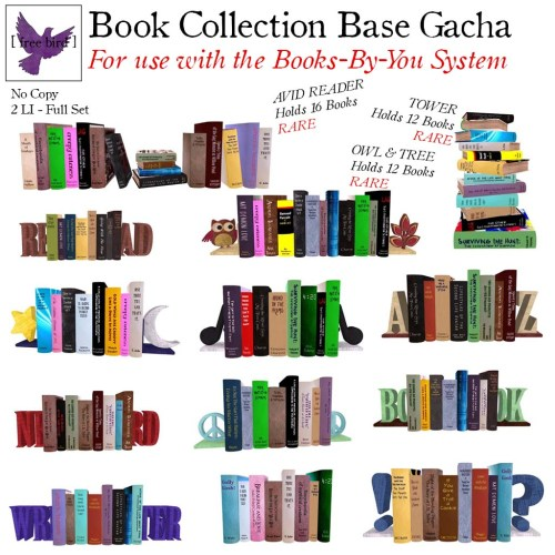 [ free bird ] Book Collection Base Gacha Key