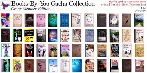 [ free bird ] Books-By-You Collection - Group Member Edition Gacha Key