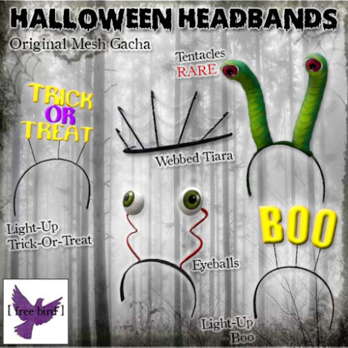 [ free bird ] Halloween Headband Gacha Ad