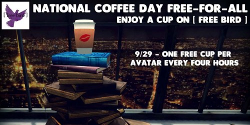 [ free bird ] National Coffee Day Ad