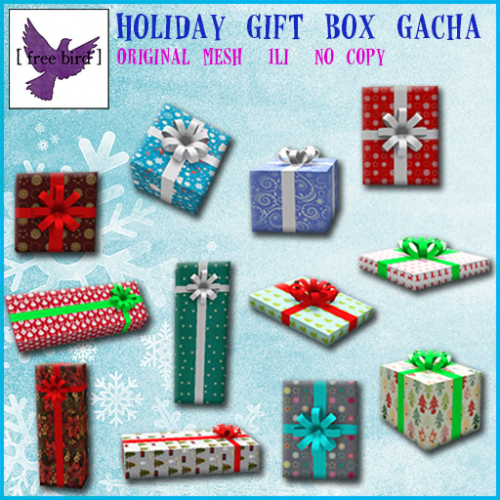 [ free bird ] Holiday Gift Box Gacha