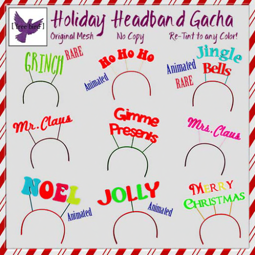 [ free bird ] Holiday Headband Gacha Key