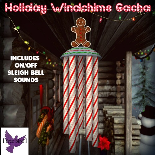 [ free bird ] Holiday Windchime Collection Gacha