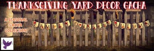 [ free bird ] Thanksgiving Yard Decor Gacha