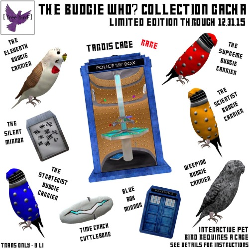 [ free bird ] The Budgie Who Collection Gacha Key
